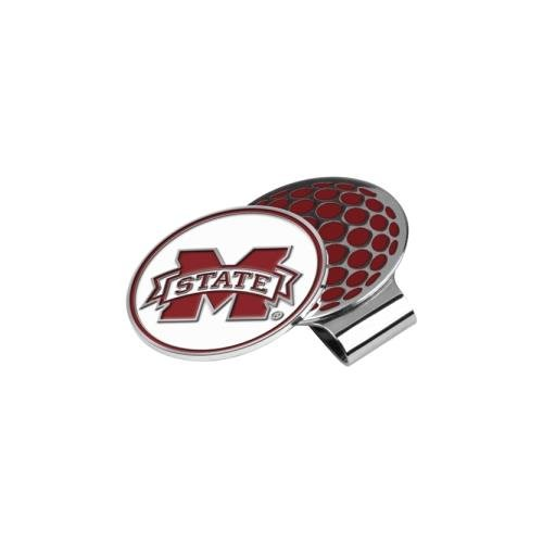 NCAA Mississippi State Bulldogs Golf Hat Clip with Ball (Mississippi State Golf Gear)