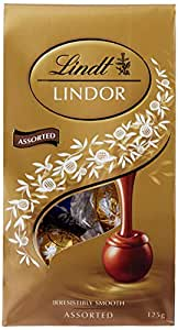 Lindt Lindor Assorted Chocolate Balls Share Bag, 8 x 125 Grams