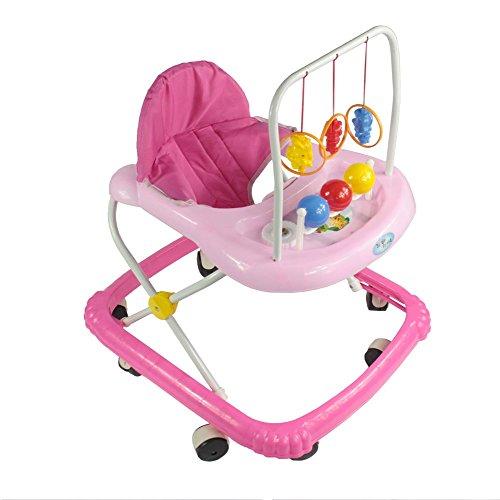 Lauflernhilfe Gehfrei Gehhilfe Laufhilfe Baby Kind Lauflernwagen mit Musik L59