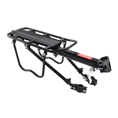 GBZZ Bicycle Rear Rack, Bike Cargo Racks Bicycle Pannier Rack Mountain Carrier Rear Rack Seat Load Luggage Rack