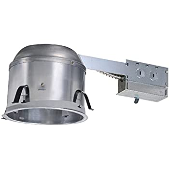 Aluminum Recessed Lighting Remodel IC Air-Tite Shallow Housing  sc 1 st  Amazon.com & Halo Recessed H25ICAT 5-Inch Housing ICAT Shallow 120-Volt Line ... azcodes.com