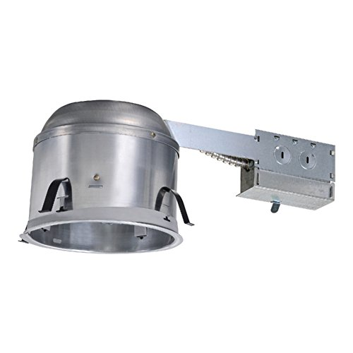 6 in. Aluminum Recessed Lighting Remodel IC Air-Tite Shallow Housing - Remodel Recessed Light Housing