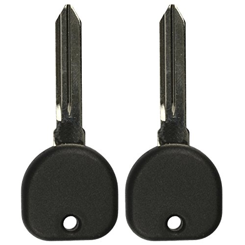 Pontiac Bonneville Key (2 KeylessOption Replacement Uncut Ignition Chipped Key Transponder PK3 Blanks)