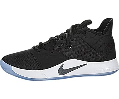 43e4cc1b490ce Amazon.com | Nike PG3 Black/Black-White | Shoes