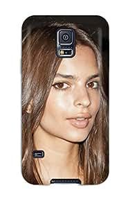 Snap On Hard Case Cover Emily Ratajkowski Protector For Galaxy S5