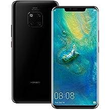 Huawei Mate 20 Pro (LYA-L29) 6GB / 128GB 6.39-inches LTE Dual SIM Factory Unlocked - International Stock No Warranty (Black)