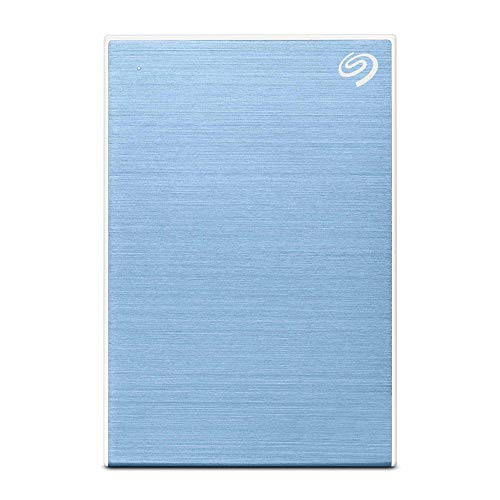 Seagate Backup Plus USB 3.0 Portable External Hard Drive for PC and Mac, 2.5-Inch, 5 TB, Light Blue