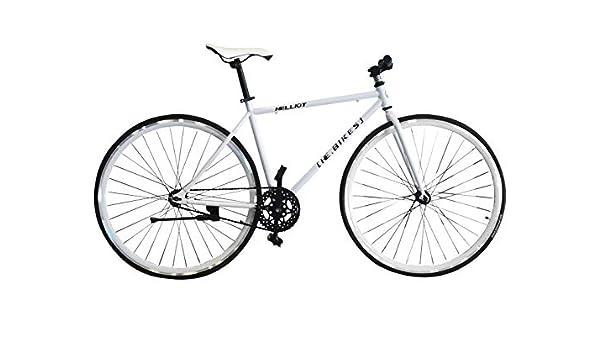 Helliot Bikes Fixie Tribeca H17 Bicicleta Urbana, Unisex, Blanco ...
