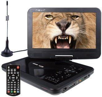 Nevir DVD PORTATIL 10.1NVR-2768DVD-PUCT2 Negro TDT HD USB: Nevir ...