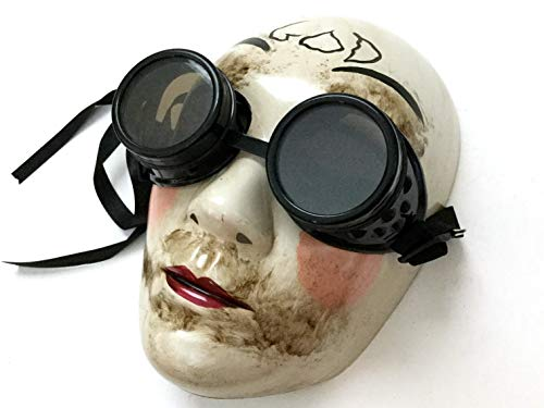Masqstudio The Purge GOD Anarchy Movie mask with Goggles Horror Killer Halloween Purge Costume Party