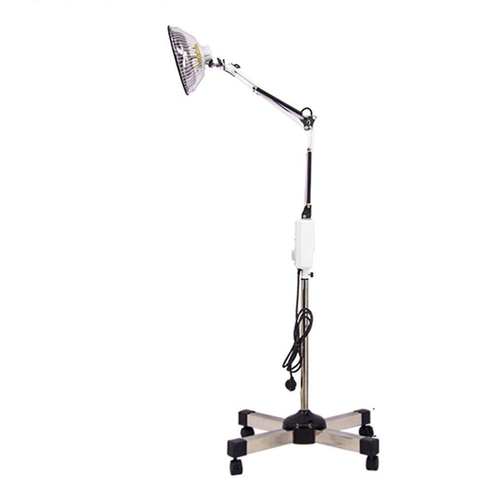 GYZ 250W Desktop TDP Heated Halogen Lamp - Household Children's Medical Multi-Functional Physical Therapy Phototherapy, Acupuncture, Pain Relief, Adjustable Temperature Infrared Light Therapy