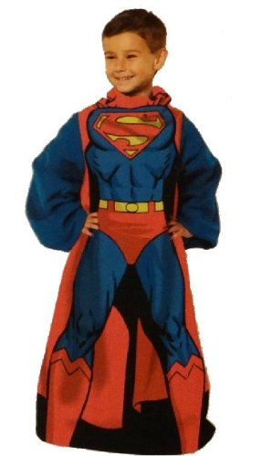 Image Unavailable. Image not available for. Color  Superman Comfy Throw  with Sleeves 1ce3268a6