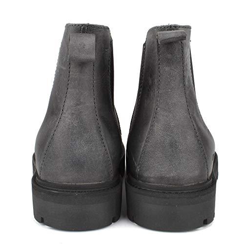 87e904a7af7 Birkenstock Stalon Graphite Nubuk Leather Chelsea Boot 7.5 UK Graphite   Amazon.co.uk  Shoes   Bags