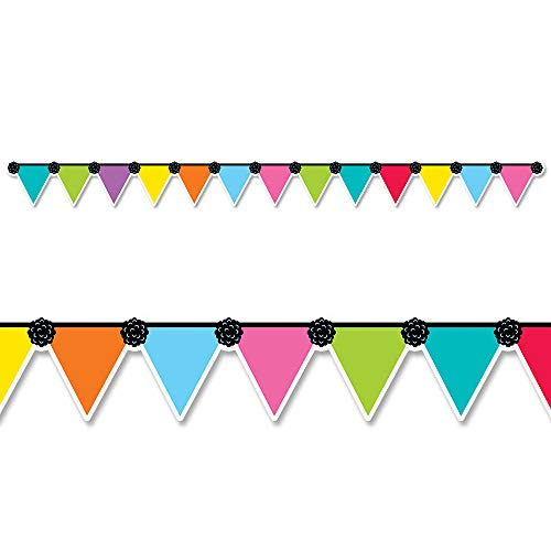 Creative Teaching Press Pennant Party Border, CTP 8704