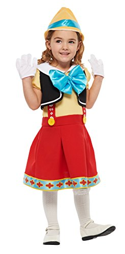 Disney Pinocchio Kids costume girl corresponding height 80-100cm (Switzerland Un Costume)