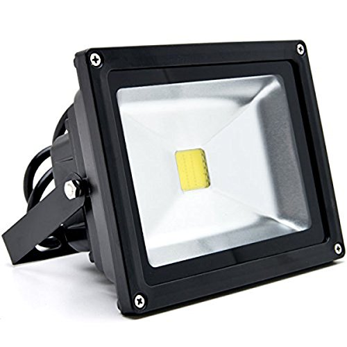 Outdoor Security Lights That Plug In: Ashialight Outdoor LED Security Lights,20w (200-watt