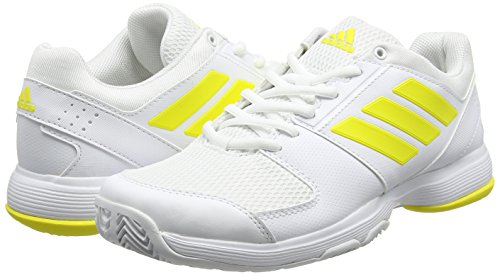 Chaussures De White Barricade Tennis Femme White bright W footwear Yellow footwear Adidas Court Jaune qIRft