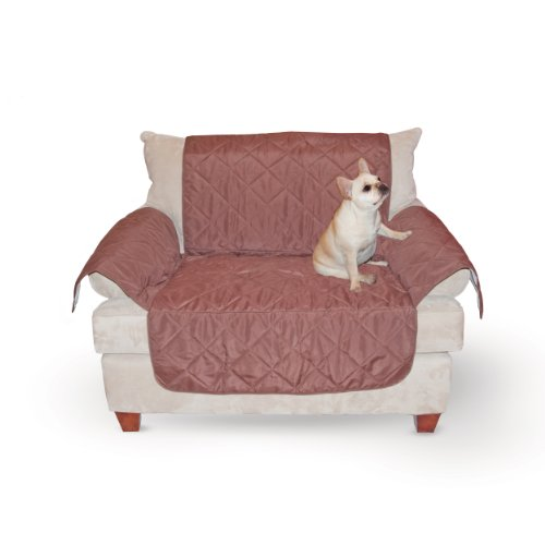 K&H Manufacturing Economy Pet Furniture Cover Chair, Chocolate