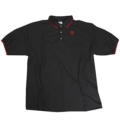 Merch Direct Sick Of It All - Dragon - Polo - T-Shirt - Bla - (Sick Of It All Dragon)