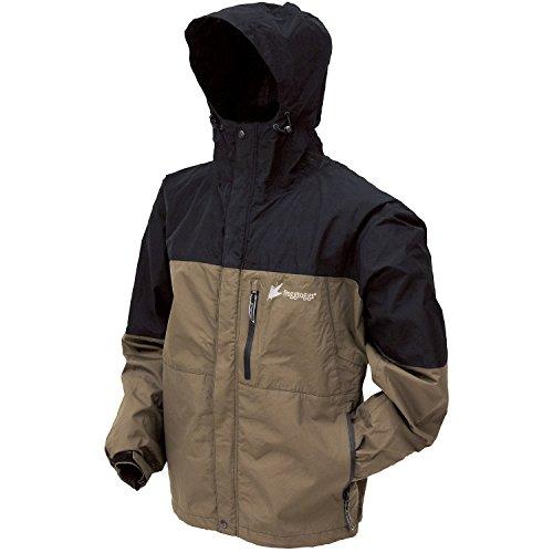 UPC 647484032587, Frogg Toggs Toadz Rage Jacket, Black/Stone, Small