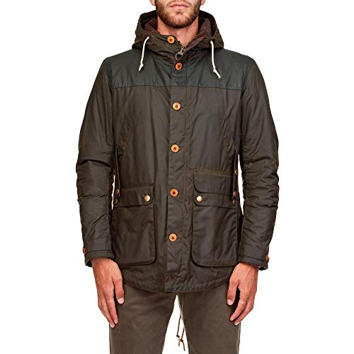 Barbour Men's Bacps1332mwxol71 Brown Polyester Outerwear Jacket