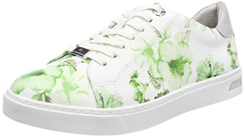 Natural green Flower Vert Sneakers Be 23640 Femme Basses HxHpdw