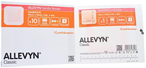 - Smith and Nephew 66800270 Allevyn Gentle Border Dressing 4