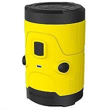 Scosche boomBOTTLE H2O Bluetooth Wireless Speaker - Yellow by Scosche