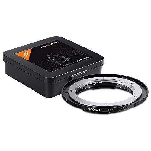 Adaptador de lente r Nikon F/af Ai Ai-s a  Canon Eos Ef Ef-s