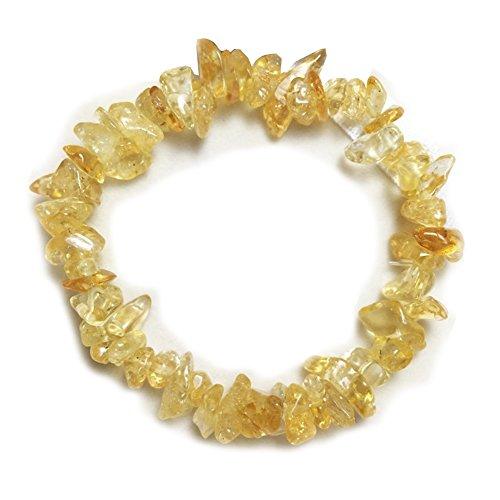 crystal chip bracelet - 7