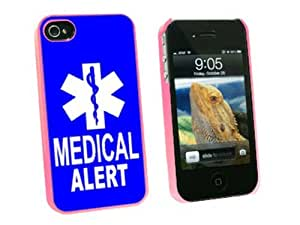 Graphics and More Medical Alert - Emergency - Star of Life - Snap On Hard Protective Case for Apple iPhone 5c - Pink - Carrying Case - Non-Retail Packaging - Pink