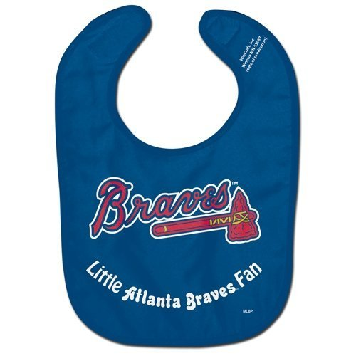 MLB Atlanta Braves WCRA0115614 All Pro Baby Bib by WinCraft -