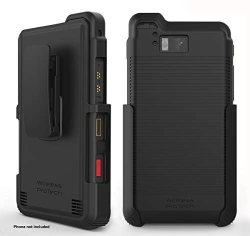 Sonim XP8 Case, Wireless ProTECH Belt Clip Holster and TPU Material Case for Sonim XP8 XP8800 (Black)