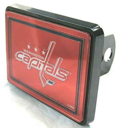 (WinCraft NHL Washington Capitals Laser Cut Trailer Hitch Cap Cover)