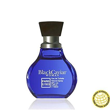 Black Caviar Woman Eau de toilette Paris Elysees Spray femme / woman 100ml