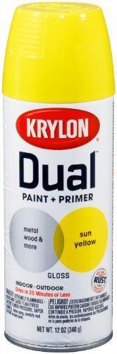 yellow aerosol paint for glass - 5