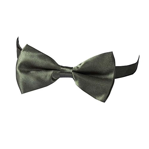 Bowtie Verlike Green Bow Fashion Wedding Men's Tied Tie Pre Plain Fashion Suits Army Tie Polyester wwIqxHCp