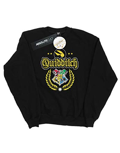 da Felpa Harry donna di nera Potter Quidditch Crest Z66Pqwdr