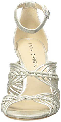 Women's Spiga Via Sandal Dorian Platinum Dress 6g55wq