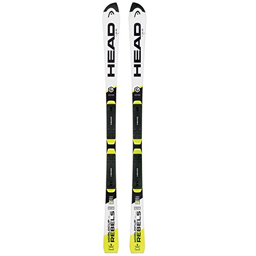 HEAD 2017 World Cup Rebels iSL RD SW Race Skis with Race Plate - 156 (2013 Skis Head)