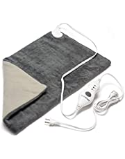 """PARAMED Heating Pad XL King Size by Paramed - Extra Large 12"""" x 24"""" - Auto Shut-Off - for Neck, Back, Shoulder & Sore Muscle Relief – Washable"""