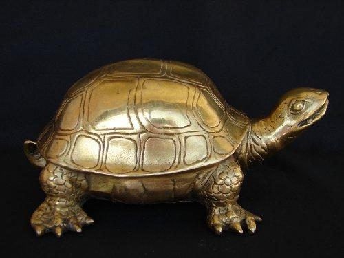 Feng Shui Import Big Brass Turtle Statue
