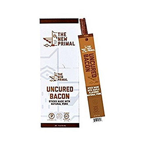 THE NEW PRIMAL, PORK STICK, MAPLE BACON - Pack of 20
