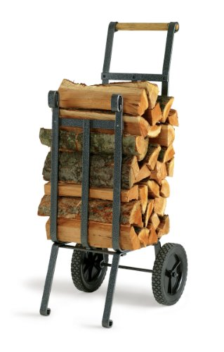 Vogelzang LC-37 Heavy Duty Log Cart Fire Wagon Garden