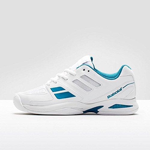 Babolat - Zapatillas de tenis de genérico para niño - Weiß/Blau