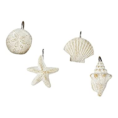 Park Designs Shell Shower Curtain Hooks (Set of 12)