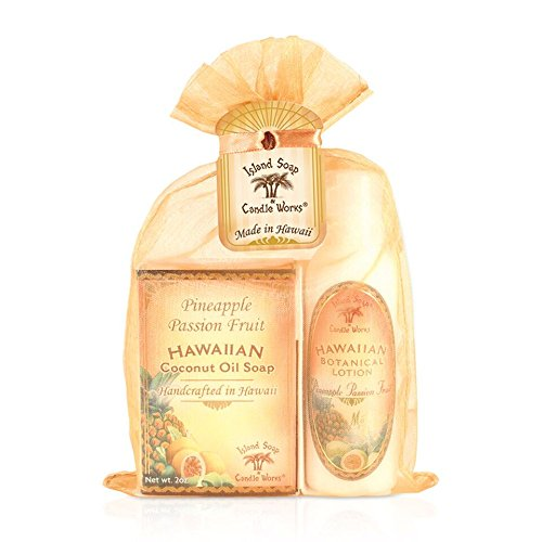 Island Soap & Candle Works Soap/Lotion Organza Gift Bags,...
