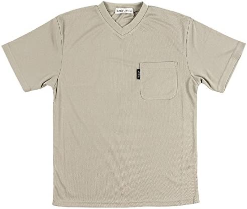 (Rodhos Valentino) メンズ 半袖 Vネック Tシャツ 2072 1704 紳士 男性