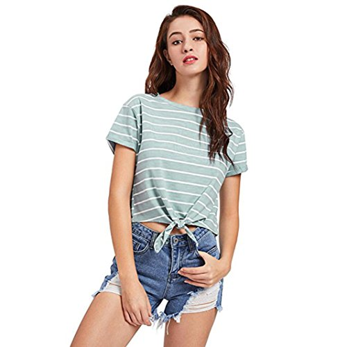 Mujer Poliéster Multicolor SANFASHION Damen Shirt145 Bekleidung SANFASHION de para Bailarinas Verde Multicolor rqw8pTYq