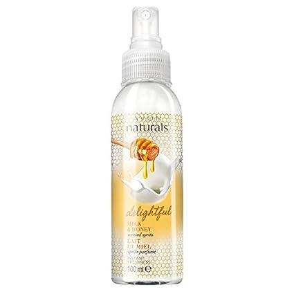 Naturals de Avon Leche y Miel habitación Ropa de lino y spray